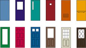The Lock Pros Inc offers many door styles and installs Ceco doors.