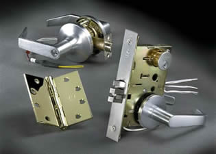 The Lock Pros Inc installs parts from many manufacturers such as Yale.